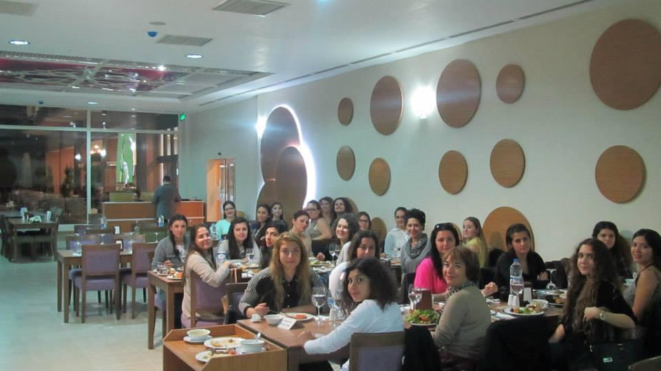 Balçova Belediyesi Katkılarıyla, Balçova Termal Otel'deki akşam yemeğimiz.